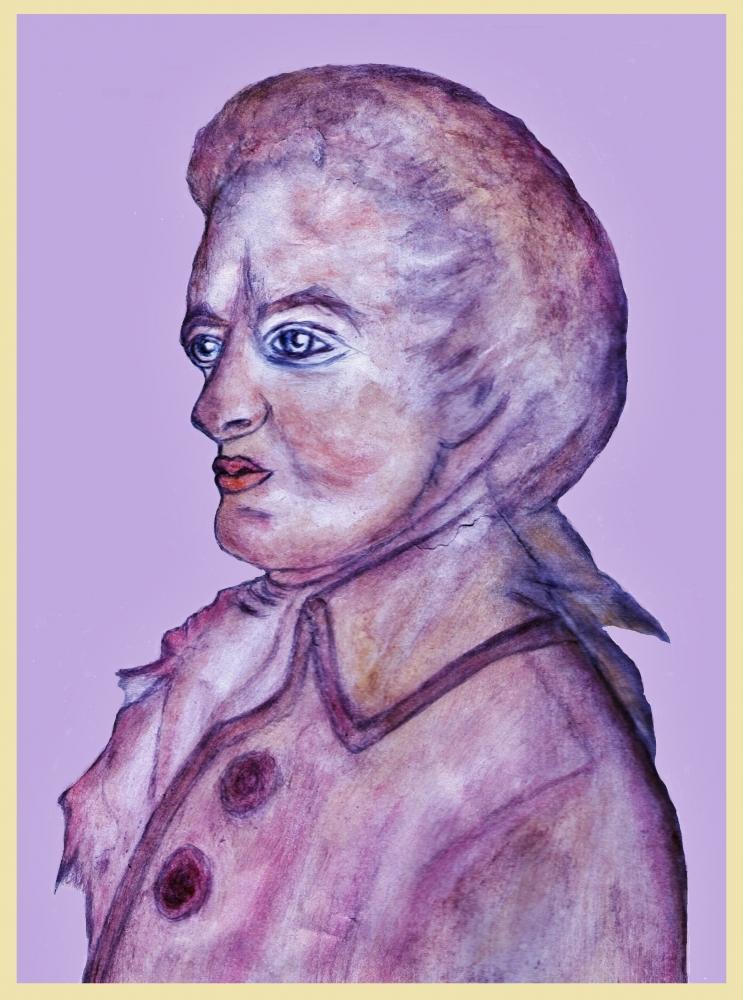 Wolfgang Amadeus Mozart por Vuilletjossjoss